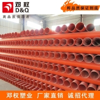 PVC电力电缆管 PVC电缆套管 埋地式高压电缆管75*2.