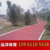 彩色透水混凝土 透水混凝土地坪 彩色混凝土地坪厂 上海海绵城
