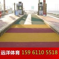 园路彩色防滑路面 安全环保彩色路面 江苏彩色防滑路面专业施工