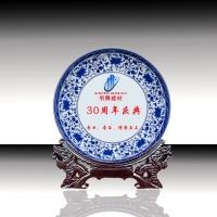陶瓷纪念盘、陶瓷奖盘、陶瓷瓷盘画像