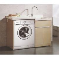 土豪金不锈钢洗衣柜