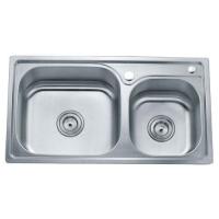 索贝洁具-不锈钢厨盆水槽 8245