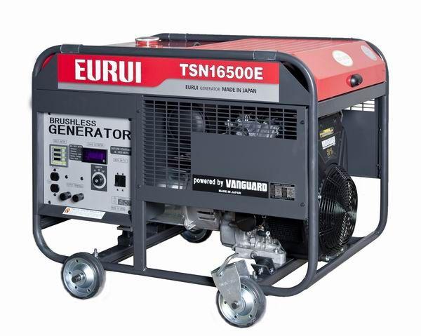 原装日本东洋EURUI汽油大功率15KW发电机组TSN165