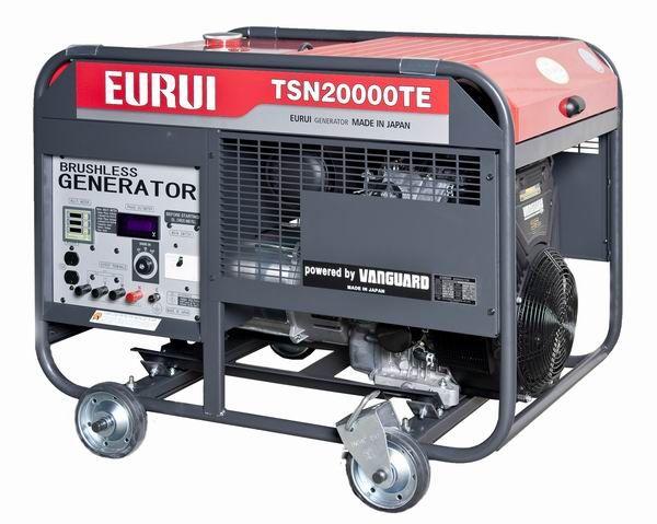 原装日本东洋EURUI汽油大功率18KVA三相发电机组TSN