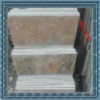 天然文化石 锈色板岩 黄锈色文化石 锈色地板石 精品锈石板铺