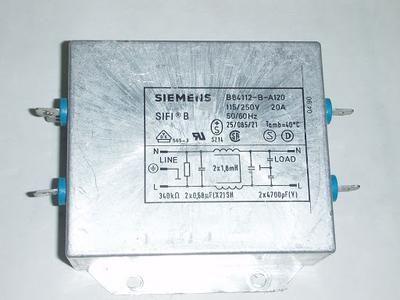 西门子电源滤波器电路图