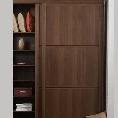 好莱客衣柜 同色边框门