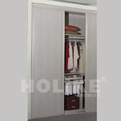 好莱客衣柜 同色边框门 英格兰白橡同色边框