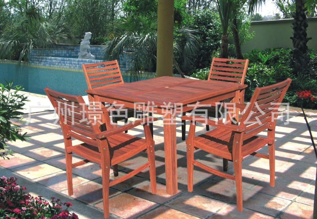 公园椅子户外公园长椅室外园林椅铸铁实木椅休闲公园