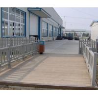 南京金艺铁艺-国风木塑-地板-灰地板栅栏
