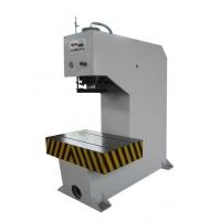 HY100T单臂校轴液压机紧急停机及维修故障