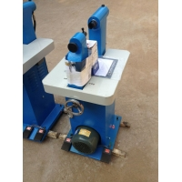 220v立式电动液压投铆机可移动工作台方便操作