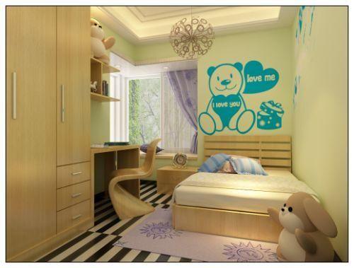 无锡绿赫硅藻泥儿童房价格及装饰装修效果图