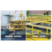 工业用玻璃钢格栅板、污水处理地格栅地格网、稳固漏水防滑绝缘