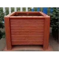 庭院装配式仿木花箱
