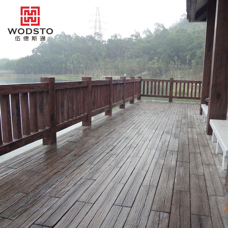 户外景观园林地台 露台码头亲水台防腐木 人造木