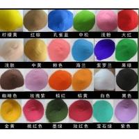 专业生产天然彩砂 不褪色染色彩砂真石漆用彩砂无毒环保彩色砂