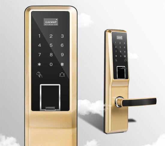 家居办公楼指纹密码锁 智能电子门锁