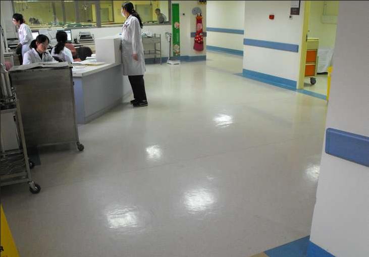 漯河医院PVC塑胶地板