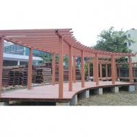 南京木塑廊架-瑞晓环保设备
