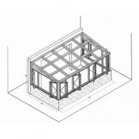 南京阳光房-南京瑞晓环保设备-斜坡顶阳光房