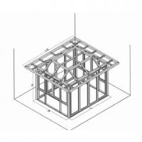 南京阳光房-南京瑞晓环保设备-平顶加屋檐阳光房