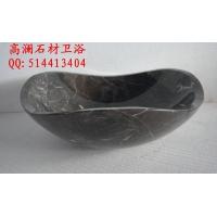 厂家提供定制低价金镶玉大理石艺术洗手盆、台面