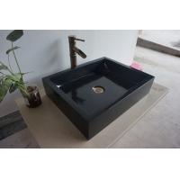 高澜卫浴大理石方槽石头洗手盆石头台盆