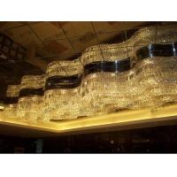 酒店大堂工程灯具 大型水晶吊灯 会所大厅吊灯 非标定制