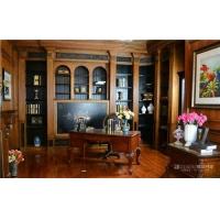 北京书房书柜、护墙板