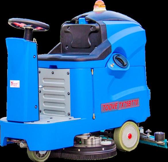 常州拓威克驾驶式洗地机TX75BT70 驾驶式洗地车无线洗地