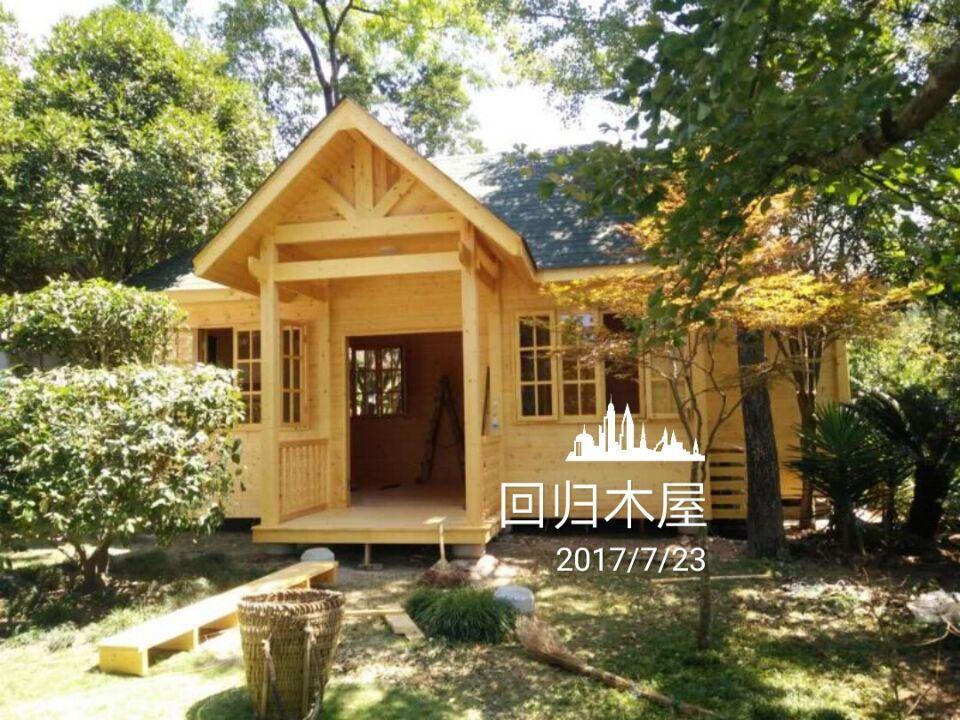 巴中私人木別墅 木屋(加拿大進口spf木方制造)