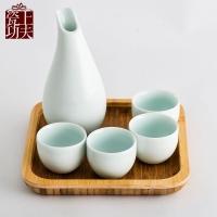 套装陶瓷酒具 纯手工陶瓷酒具定制LOGO