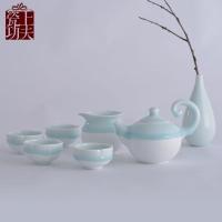 高档陶瓷茶具 礼品陶瓷茶具定制