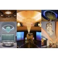 现代巨型水晶灯玻璃灯