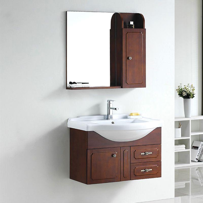 盆柜组合 美式浴室柜