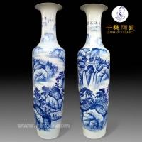 瓷器大花瓶  景德镇瓷器大花瓶 手绘景德镇瓷器大花瓶