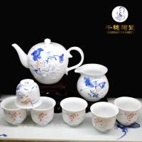 陶瓷茶具礼品      定制茶具礼品