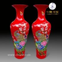 大陶瓷花瓶的寓意   陶瓷大花瓶