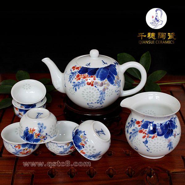 景德镇青花瓷茶具图片图片