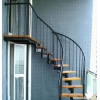 上海松江钢结构楼梯设计