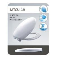 陶瓷质感匹配率好欧式脲醛马桶盖MTCU-19