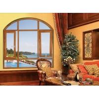 翔派50铝合金平开窗 壁厚1.4工程窗 铝合金工程平开窗