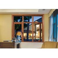 翔派72铝木复合内外开平开窗 1.5铝包木断桥隔热平开窗