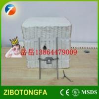 江西平顶砖窑隧道窑保温棉块硅酸铝模块