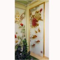 南京背景墙-南京指间艺术玻璃