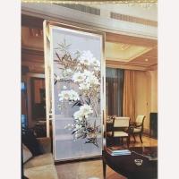 屏风隔断系列-南京指间艺术玻璃