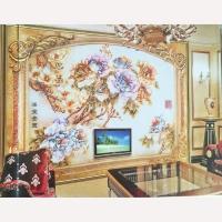 南京雕刻背景墙系列-南京指间艺术玻璃