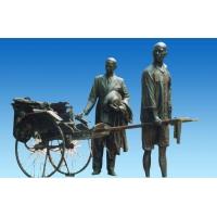 步行街雕塑人物雕塑铸铜雕塑
