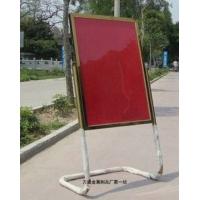 热卖酒店L脚指示牌 不锈钢广告牌 活动广告展示架 落地水牌